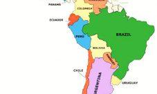 Mapa de Latinoamérica (América Latina)