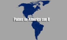 Países de América con B