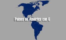 Países de América con G