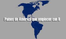 Países de América que empiecen con R