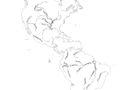 Mapa de ríos de América