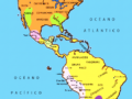Mapa de culturas precolombinas de América