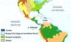 Mapa de biomas de América